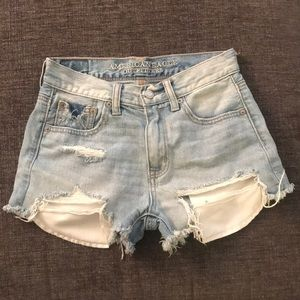 American eagle vintage look cut off shorts